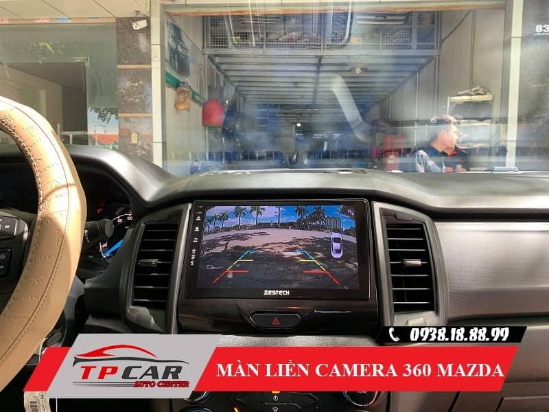 màn hình liền camera 360 độ mazda zestech z800 pro+